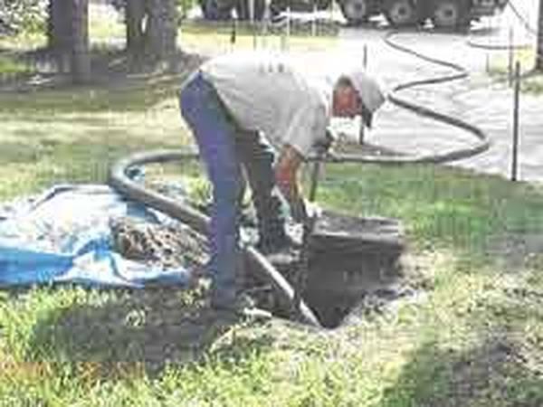 comment démarrer une fosse septique après vidange
