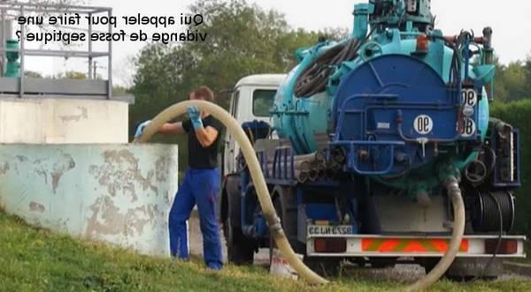 Appelez Pourquoi vidanger une fosse septique en Île de France
