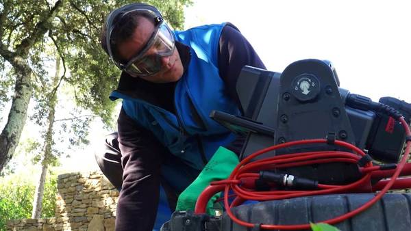 inspection canalisation 95