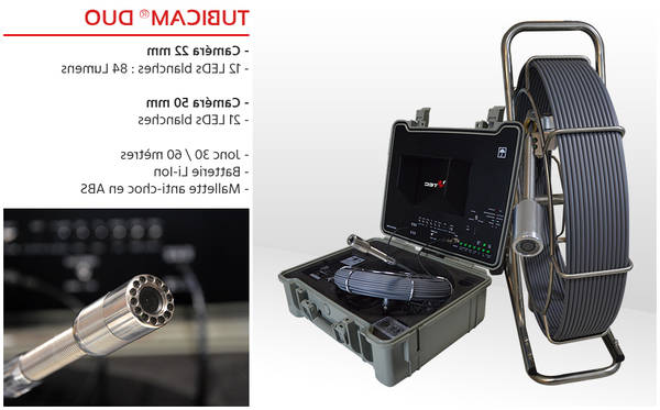 inspection canalisation camera