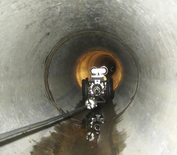 inspection télévisée de canalisation